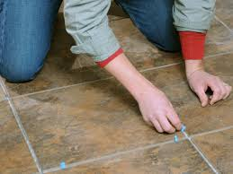 Thin Set Mortar For Porcelain Tile by Laying A New Tile Floor How Tos Diy