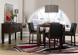 Standard Furniture Couture Elegance Square Parsons Style Counter Height Dining Table