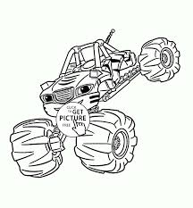 Monster Trucks Coloring Pages For Boys Download Blaze Monster Truck ...