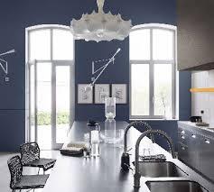dulux cuisine et salle de bain peinture cuisine bleu couleur couture dulux