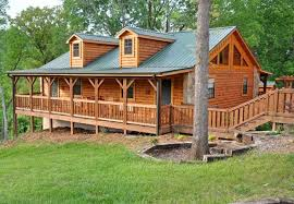 Cabin Style Modular Homes Small Log Go Pole Barn Garages 0