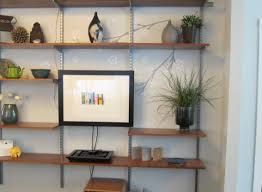 Full Size Of Shelfbeautiful Wood Wall Display Shelves Floating Bright Vintage