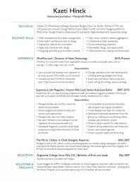 40 Interests On A Resume Flexible In Resumes 4 Simple Consequently Excellent