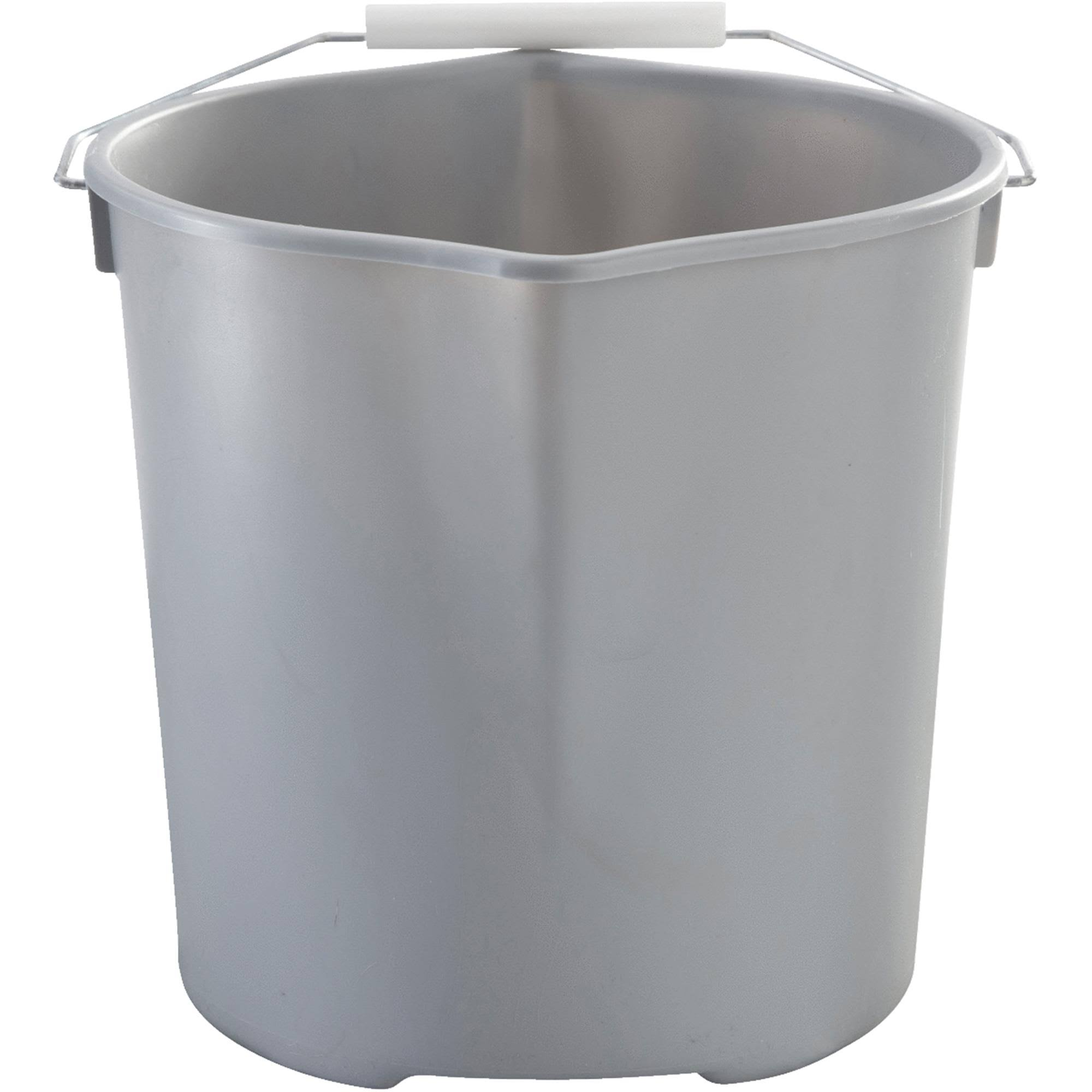 Quickie 2077957 Bucket, Grey, 11 Quart