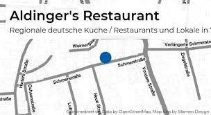 aldinger s restaurant schmerstraße in fellbach regionale