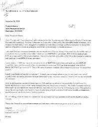 Medina woman s letter urging health care reform gains national