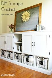 how to build a combination diy storage cabinet toy storage