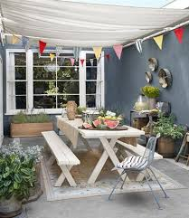 12 simple tips for summer party table setting and outdoor home