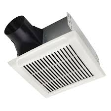 Nutone Bathroom Fan Replacement Lens by Nutone Invent Series 50 Cfm Ceiling Bathroom Exhaust Fan Energy