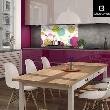 kitchen glas spritzschutz circles 50 cm x 90 cm kaufen