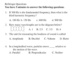 Waves Sound Review Level Physics