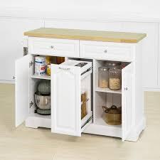 sobuy fkw100 wn kücheninsel mit arbeitsplatte küchenwagen mit 2 türen
