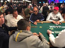 Day 1A WSOP Main Event Gets Rolling Eyes On Past Champs Celebs