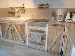 meuble cuisine palette meuble de cuisine en palette galerie avec cuisine avec palettes