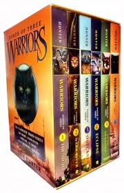 Power Of Three Erin Hunter Collection 6 Books Box Set Warrior Cats By