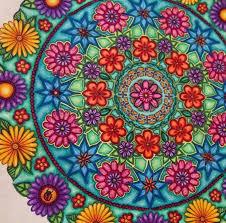 Mandala Circle Secret Garden Circulo Jardim Secreto Johanna Basford BookSecret Coloring