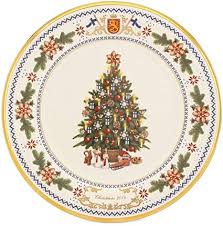 Lenox Christmas 2014 Annual Trees Around The World Plate Finland Collectors 24th USA