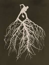 I Like The Idea Of Having Roots Coming Out An Object Other