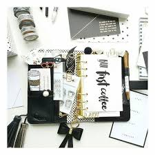 Black And White Set Up In Gero Fusco Planner