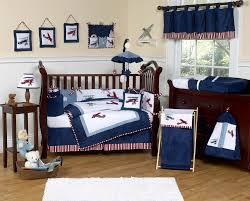 Baby Boy Airplane Nursery Bedding • Baby Bed