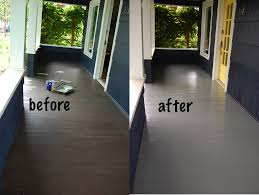 Sherwin Williams Epoxy Floor Coating Colors by Painting My Porch Diy Project Aholic