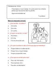 Escuela Del Unicornio Carta De Presentación 1º Primaria Sada Y Sus