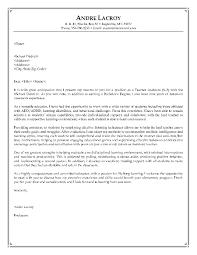 Cover Letter Example Of A Teacher Resume Httpresumecareer Teaching Assistant
