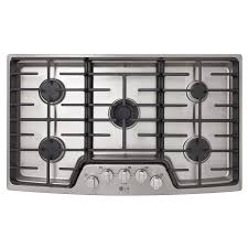 100 Studio 36 LG In 5Burner Stainless Steel Gas Cooktop Common In
