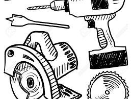 Woodworking Tools Clipart Logo Vine