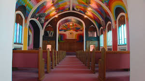 Denver Airport Murals Painted Over by The International Church Of Cannabis Has Arrived In Denver 9news Com