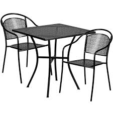 28SQ Black Patio Table Set CO-28SQ-03CHR2-BK-GG ... Empty Table Chair Restaurant Boost Color Stock Photo Edit Now Ding Set For Dinner Room Small Cherry Style Contemporary Fniture Kids And Cafe Bistro Tables Chairs Droughtrelieforg Modern Industrial Bar Stools Rustic And Flash 36inch Round With Four Products Vector Table Chair Two Flat Icon Isolated Fniture Side Stool Supply Discount Find More For Sale At Up To 90 Coffee Terrace With Classic Shop Blur