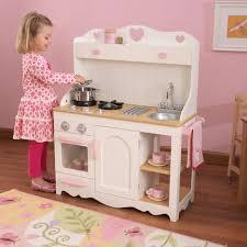 cuisine bois enfant kidkraft cuisine enfant prairie en bois kidkraft pas cher à prix auchan
