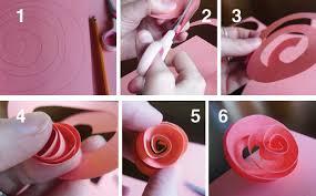 Valentines Day Paper Flower