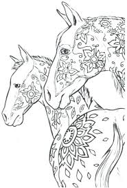 Coloring Horses Horse Book Online Pages Of And Ponies Horseshoe Crab Page