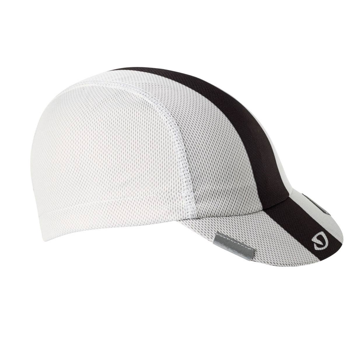 Giro Peloton Cycling Cap - White, Black and Grey