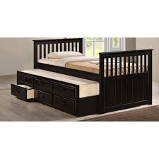 Twin Captains Bed With 6 Drawers by Shop Twin Size Beds For Kids Living Spaces Captains Bed With