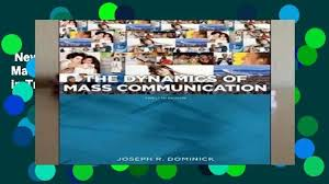 New Releases Dynamics Of Mass Communication Media In Transition Unlimited