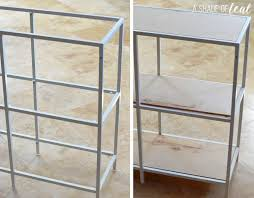 Metal Bookshelf IKEA VITTSJ– — Home & Decor IKEA