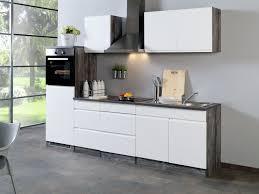 held küchenzeile cardiff leerblock b 270 cm mit einbaubecken selbstmontage