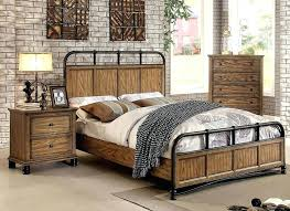 Rustic Industrial Bedroom Furniture Finish Sets For Kids