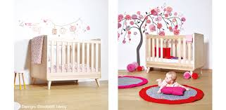 chambre de bébé design chambre bébé et enfant la collection vogue de zinezoé
