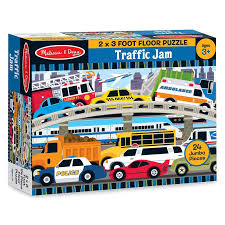 Car Puzzles Melissa And Doug Traffic Jam Puzzle Vehicles | Radar ... Melissa Doug Fire Truck Floor Puzzle Chunky 18pcs Disney Baby Mickey Mouse Friends Wooden 100 Pieces Target And Awesome Overland Park Ks Online Kids Consignment Sale Sound You Are My Everything Yame The Play Room Giant Engine Red Door J643 Ebay And Green Toys Peg Squirts Learning Co Truck Puzzles 1