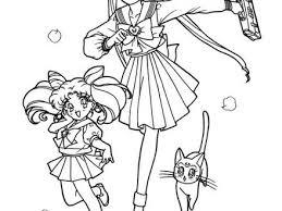 Manga Coloring Page Home