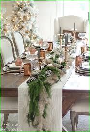 silvester dekoration weihnachtstischgedecke
