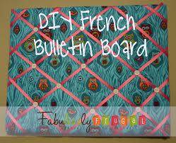 DIY French Bulletin Board