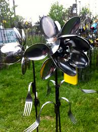 How To Make Silverware Yard Nts Spoons About Recycled Outdoor