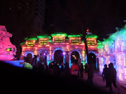 Harbin Ice Carving Inside and Outside Zaolin Park Travels With