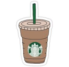 Starbucks Iced Coffee Stickers By Aprilconway