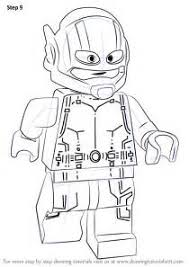 Lego Ant Man Coloring Pages