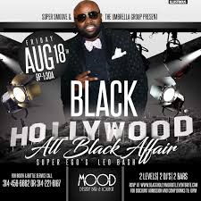 Eventbrite Halloween Bar Crawl Boston by Black Hollywood All Black Affair St Louis Tickets N A At Mood